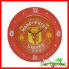 Plastic Wall Clock For Football Fan