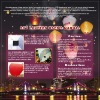 8 colors of Sky lantern for party use