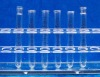 Glass Test Tube with Rim and with graduate