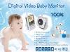Digital wireless baby monitor / digital baby monitor