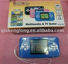 HG-810BB INNOVATIVE & VALUE-ADDED 16 BITS POCKET TFT GAME, 101 IN 1 GAME GALLERY, AV OUTPUT FUNCTION