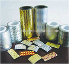 Sell gold aluminium foil for pharmaceutical (1235/8011)