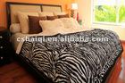 Zebra Plush Quilt lamb blanket