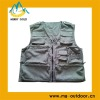 Cotton Outdoor Casual Travel Vest With Multi Pockets