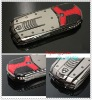Lamborghini car shaped mobile phone Metal Housing Dual SIM Dual Standby 2GB TF Free GSM850/900/1800/1900mHz