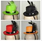 Mini cocktail headband hat