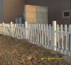 Colour steel sheet fence