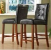 Faux Leather Barstools