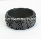 carved lacquerware bangle