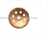 Diamond Cup Grinding Wheel-SINGLE ROW GRINDING WHEEL