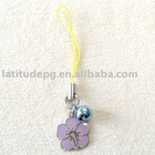 Purple Mobile Phone Charms