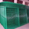 Frame fence-galvanized temp wire mesh