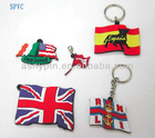 PVC FLAG KEY CHAIN