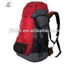 Red large capacity comfortable hiking backpack-120511
