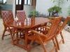 Camphor concrete garden furniture