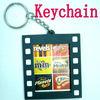 soft pvc photoframe key-chain