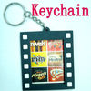 soft pvc photoframe key-chain