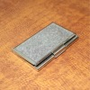 stainless iron metal name card case