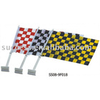 Car flag ( window carf flag, advertising flag,polyester car flag )