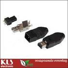Female Mini USB Connector With SMT 4P Item Code: KLS1-231-4P