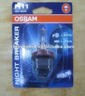 OSRAM H11 Night Breaker front fog lamp light halogen bulb upgrade