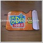 Car sun shade 130*60cm PE foam with beauty design