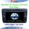 Special Touch Screen Bluetooth Car DVD GPS Player for Volkswagen New Bora with USB SD Card