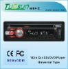 Single Din Car CD Player with AM/FM Stereo Receiver, Supports DivX, MP4, VCD, CD, MP3 and CD-R