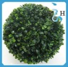 Hanging Plastic Artificial Fake Boxwood Topiary Ball ---- Largest factory