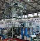 2012 Chinaplas fair show of 3 layer extruder blowing plastic film machine width 800-1300