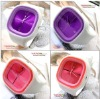 Fashion Colorful Silicone Jelly Watch