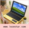 10.2 inch intel atom D425 windows os laptop with cheap price