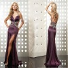 Beaded Sexy Back Open Evening Dress 2012 (abh439)