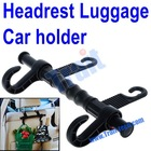 Car Seat Hanger Auto Vehicle Headrest Bags Hook Black