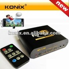 Full HD 1080P 2D to 3D Video Converter with 3D Video Glasses & Remote Control