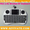2.4G Wireless mini keyboard touchpad 500RF Fly Air mouse Used for PC,Laptop,Android TV box, HTPC etc Smart devices
