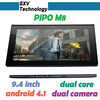 "9.4"" 2MP/5MP Dual Camera IPS 1280*800 dual core android 4.1 PIPO M8 dual core Android 4.1 tablet pc"