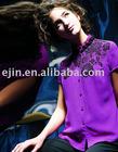 silk short shirt