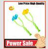 Flower shape plastic facial massager