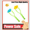 Flower shape plastic facial massager