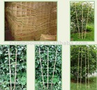 Facotry Directly Natural style bamboo flower stand