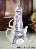 Eiffel Tower porcelain tea for one
