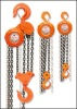 Pulley chain hoist with G80 chains