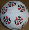 classcial natural rubber soccer ball