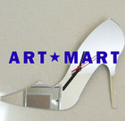 Mirrored High Heel Shoe Clock AM083