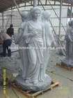 granite figure carving sculpture