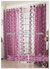 jacquard organza curtain fabric