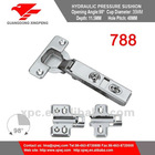 788 Cabinet Hardware Adjustable 2-holes Plate Detachable Hinge