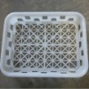 plastic basket/plastic injection products/white basket/small basket