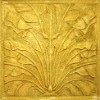 fiberglass gold wall panel